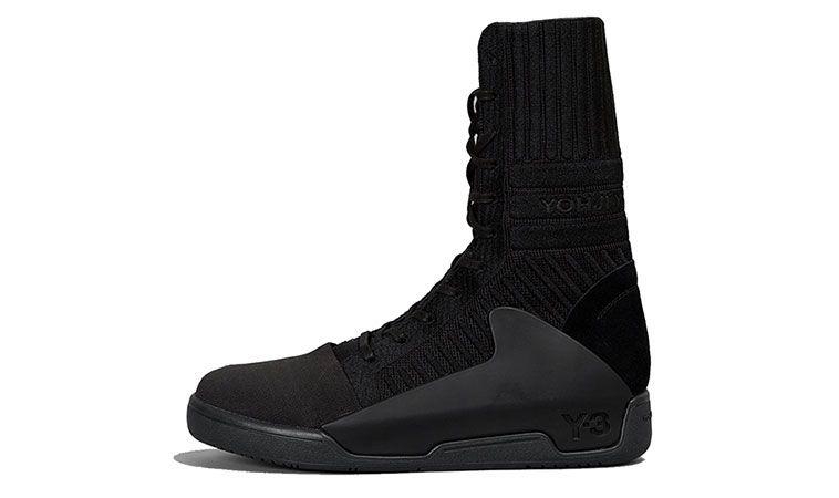 e74959807 New-adidas-Y-3-Yohji-Yamamoto-Mens-shoes-Black-Red-Qasa-High -Retro-Boost-Snow-Pro-Model-Fall-winter-2015-2016-Sneaker-Collection-Preview-online-buy-pre-  ...