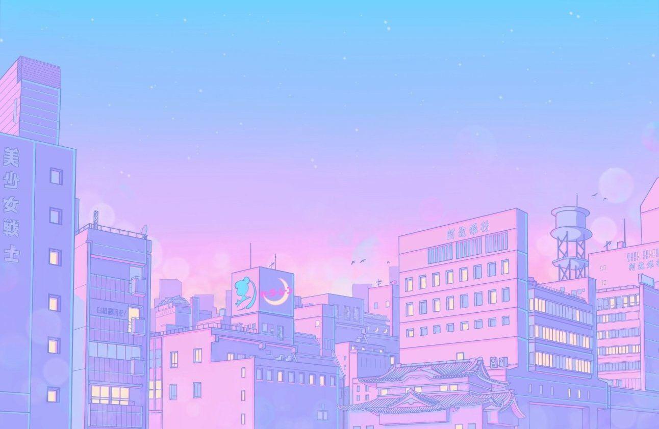 Pin By Amanda On 80s 90s Anime Aesthetics In 2020 City Framed Art Anime Scenery Wallpaper Aesthetic Desktop Wallpaper