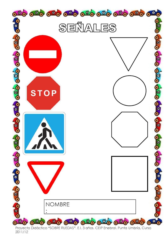 Sobre Ruedas Proyecto De Educación Infantil 3 Años Proyectos De Educacion Educacion Vial Para Niños Transporte Preescolar
