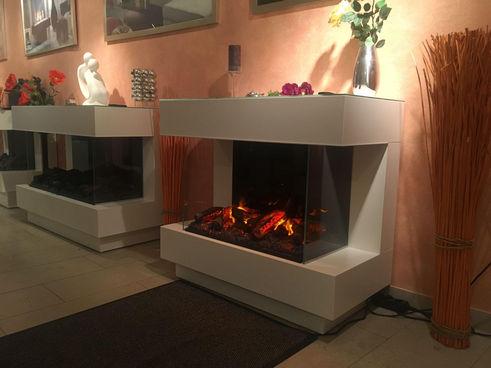 elektrokamin concept 4l elektrischer kamin mit opti myst effektfeuer von. Black Bedroom Furniture Sets. Home Design Ideas
