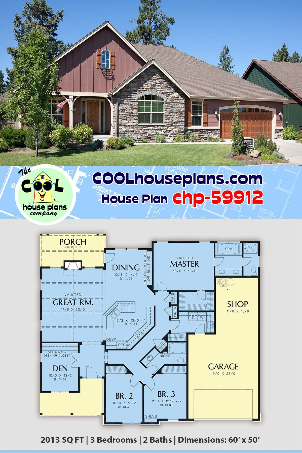 Traditional Style House Plan 81212 With 3 Bed 2 Bath 3 Car Garage House Plans House Blueprints Dream House Plans