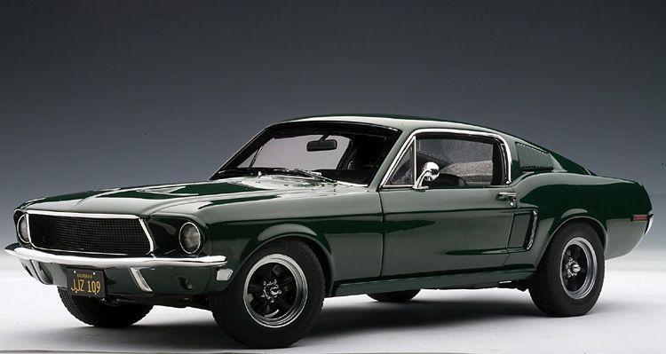 Steve Mcqueen Mustang Autoart 1968 Ford Mustang Gt Bullitt