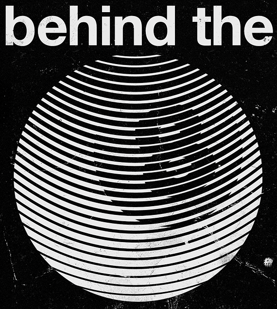 Behind the Eightball - Marius Roosendaal #grafica #poster #optical