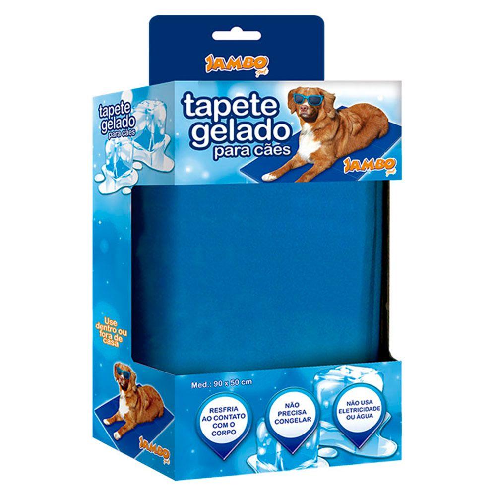 Tapete Gelado Mat Cool Grande 90x50cm. #tapete #matcool #tapetegelado #tapeteparacachorro #cachorro #gato #filhode4patas #petmeupet #jambo #desconto #promocao