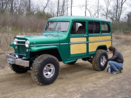 Jeeps For Sale In Md >> 1955 Willys Wagon. Next year's Christmas list. | Cars ...