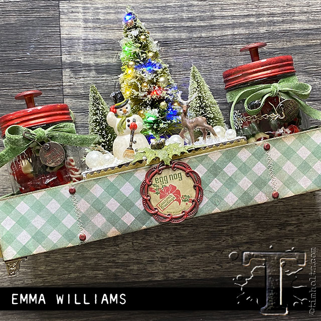 Tim Holtz ~ ~ ~ Navidad desgastado Wallpaper Idea-Ology ~ Navidad de 2019