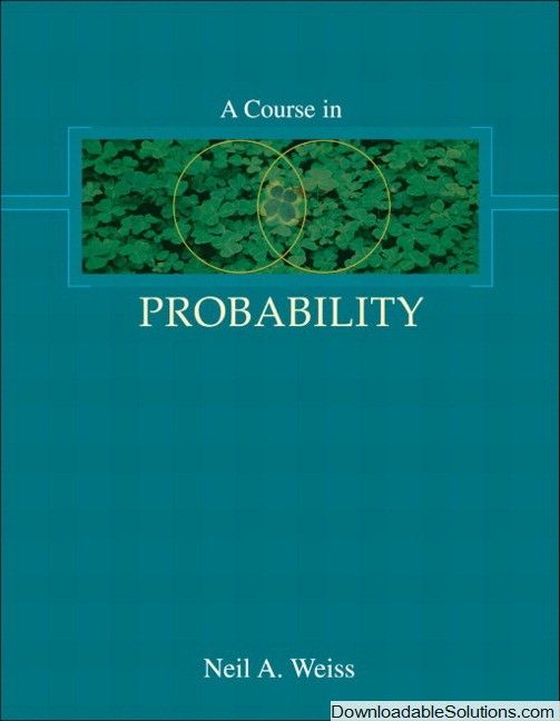Solution manual for a course in probability 1e weiss download solution manual for a course in probability 1e weiss download answer key test fandeluxe Images