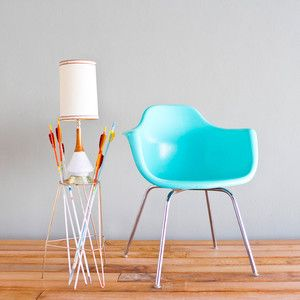 Krueger Arm Chair Turquoise