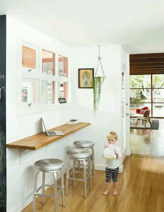 Barra de desayunos | Home | Pinterest | Kitchens, Breakfast bars and ...
