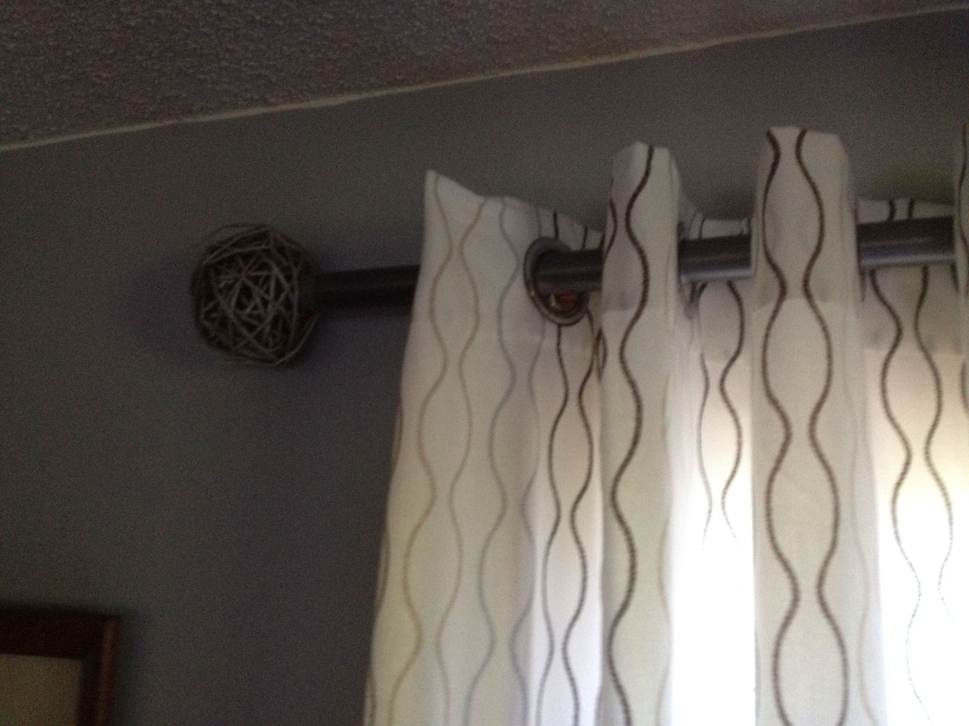 Wicker Balls From Michaels 3 99 Each Spray Painted Silver To