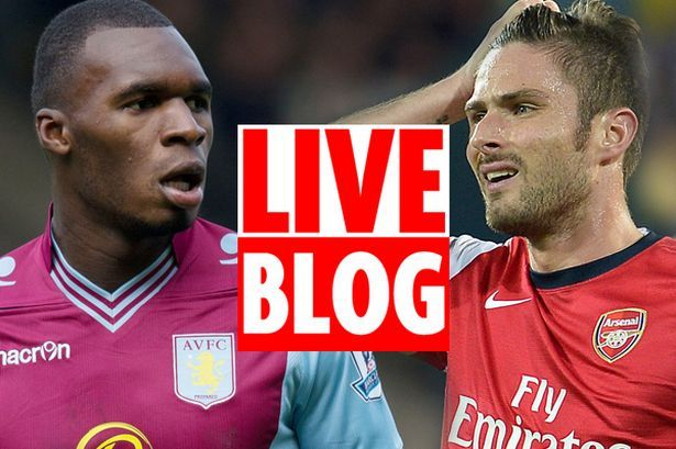 20 September 2014 Free Aston Villa Vs Arsenal Live Streaming