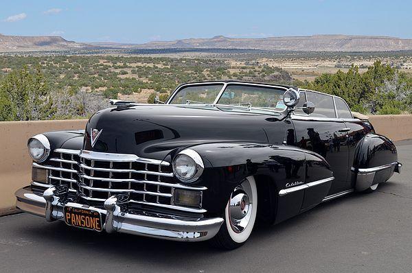 1947 Cadillac Cabrio von Pansone gesehen bei Good Guys Del Mar Nationals, Califo …
