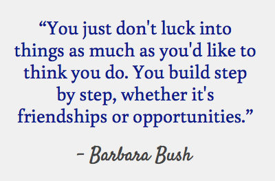 Barbara Bush quote