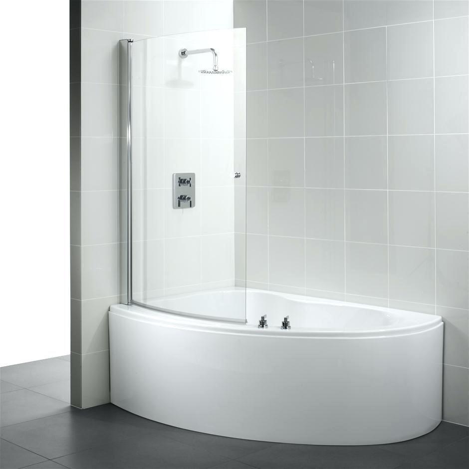 Small Corner Tub Shower Combo Home Design Ideas