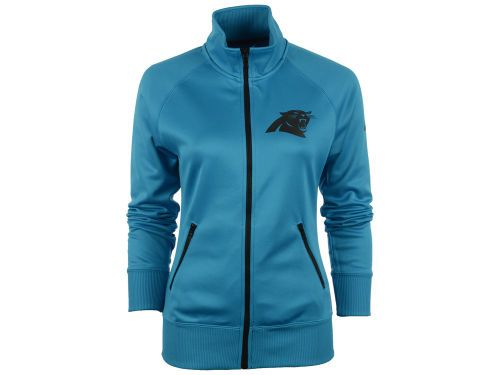 online store 6564a 66f6b Carolina Panthers Nike NFL Womens MVP Track Jacket ...