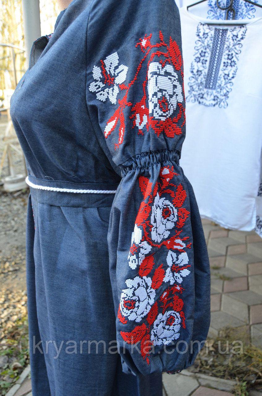 4ac38b7d77dc6c Вишита сукня в стилі бохо