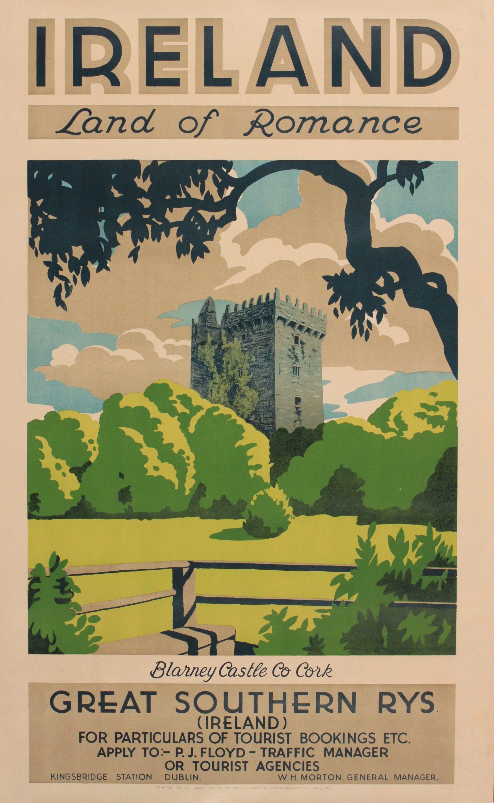 20th Century Ireland Travel Poster Google Search Travel Posters Vintage Travel Travel Postcard
