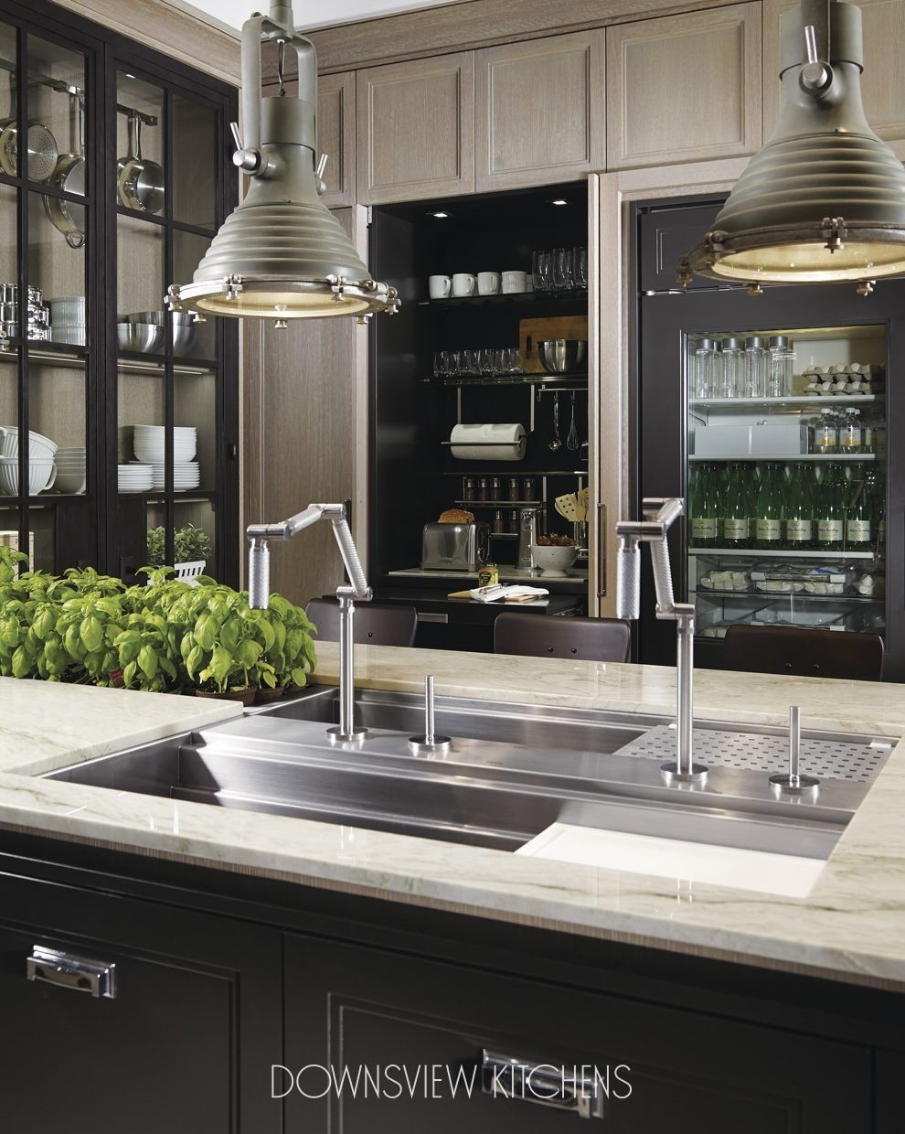 Best Industrial Chic Downsview Kitchens And Fine Custom 400 x 300