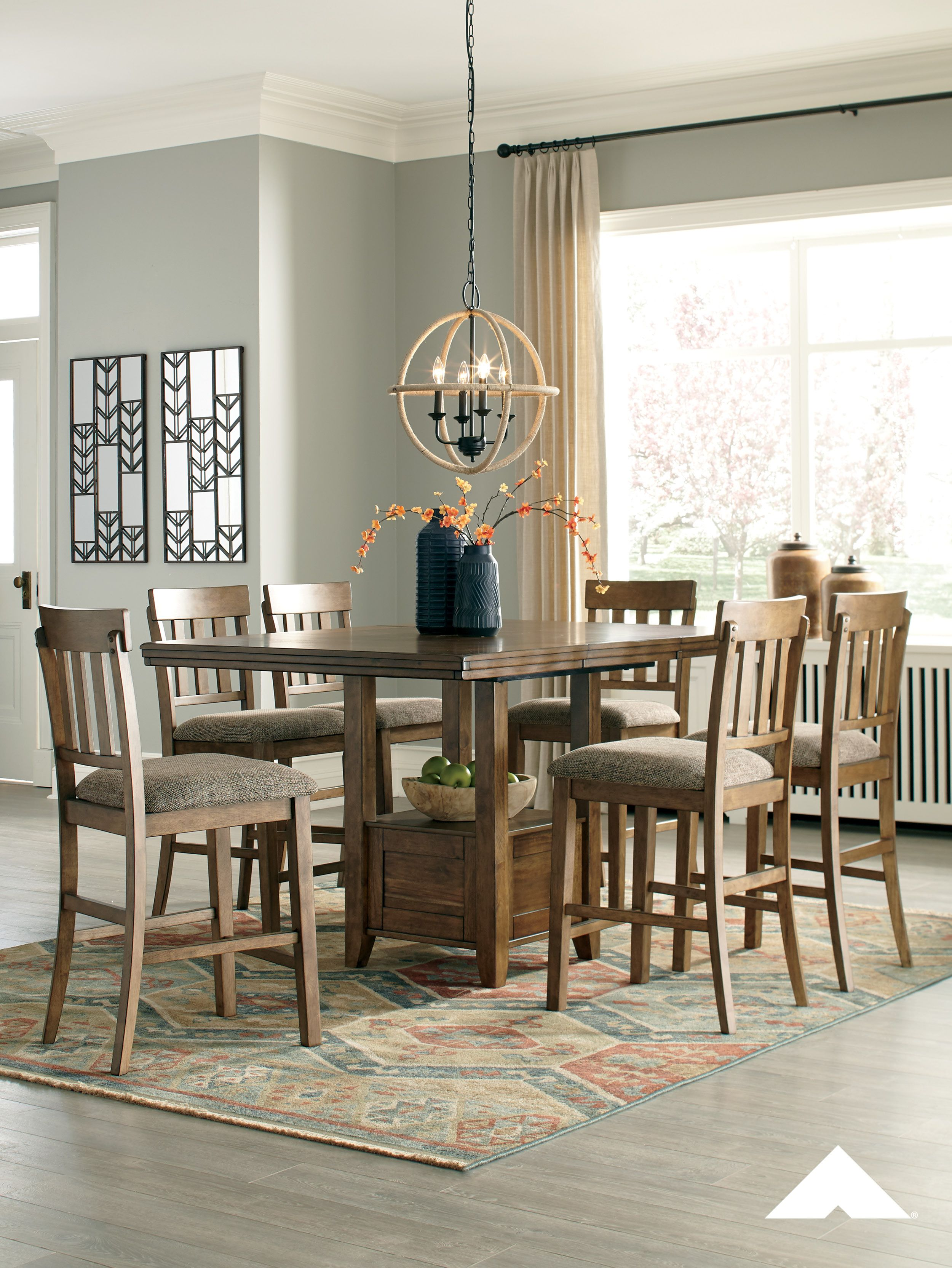 Flaybern Rectangular Dining Room Set Dreaming of