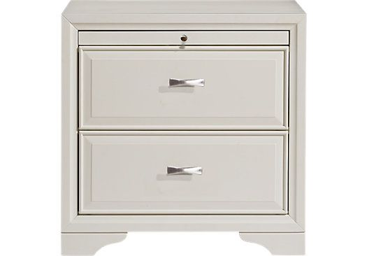 Belcourt White Nightstand X X Find Affordable Nightstands For Your Home  That Will Complement The Rest Of Your Furniture.