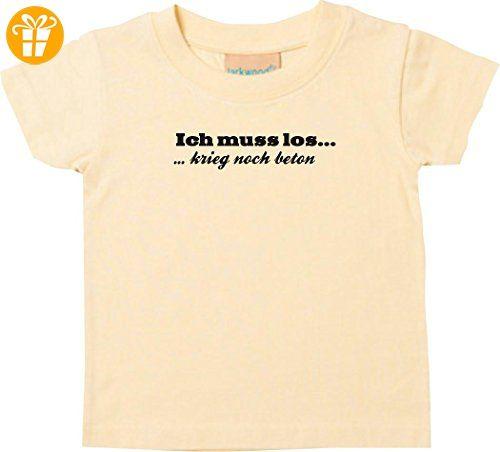 Shirtstown Kinder T Shirt Kultiger Spruch Ich Muss Los Krieg