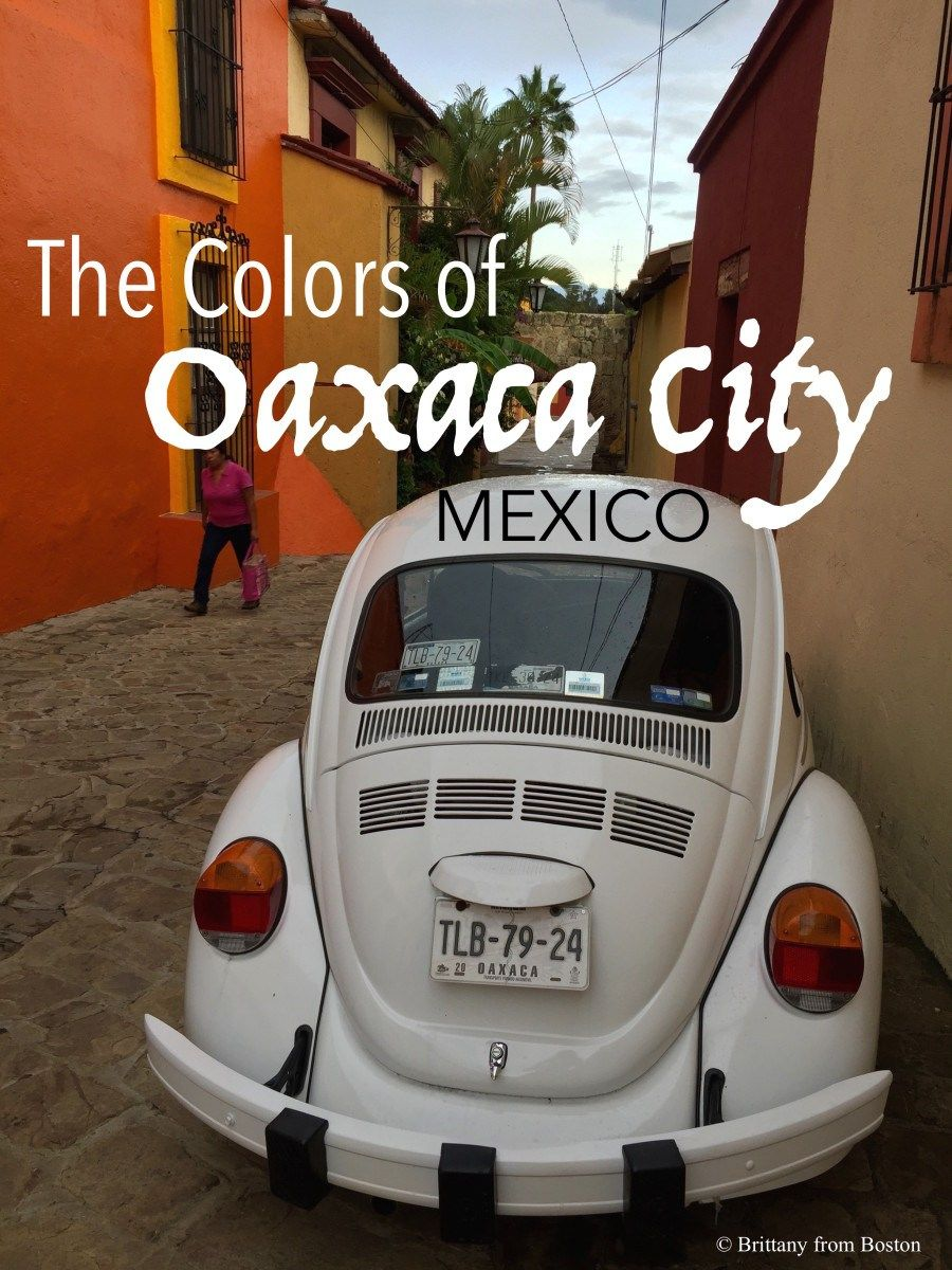The Colors of Oaxaca City, Mexico // Brittany from Boston