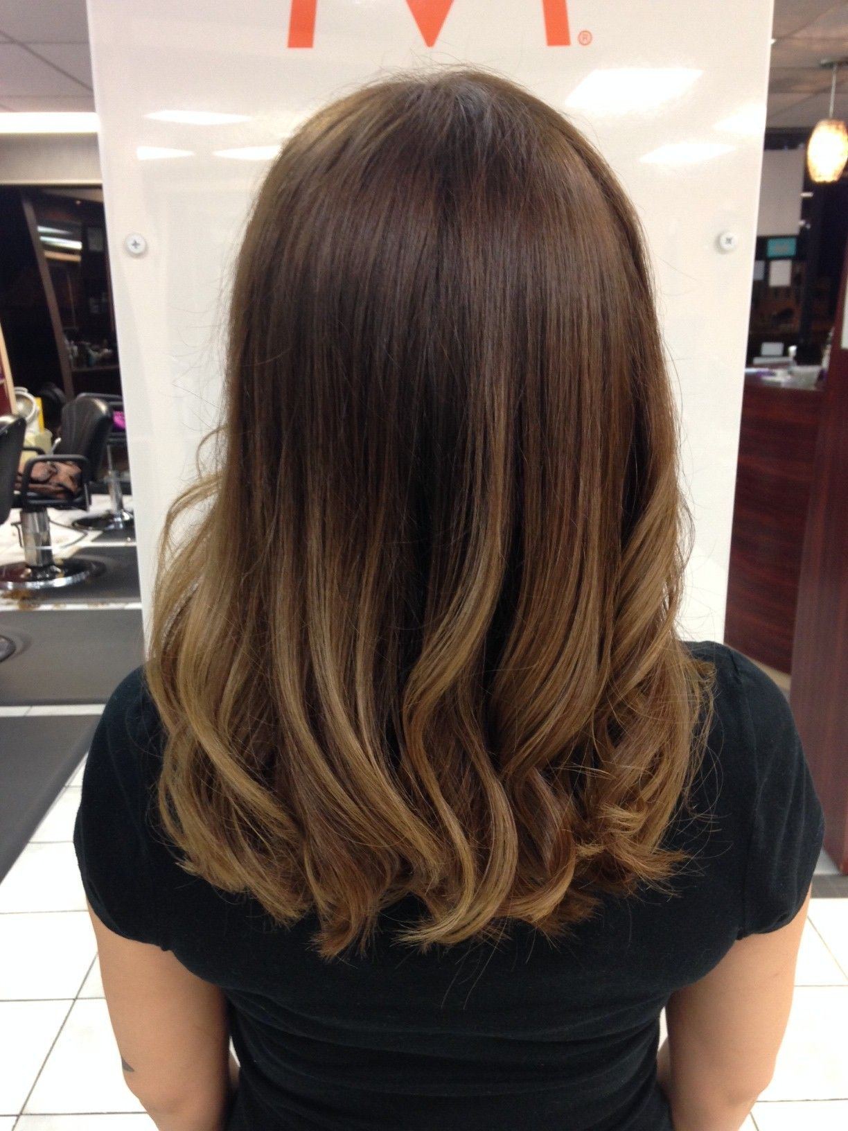 Sunkissed ombre hair hairstyles for medium length hair ombre hair ideas ombre beauty - Ombre et hair ...