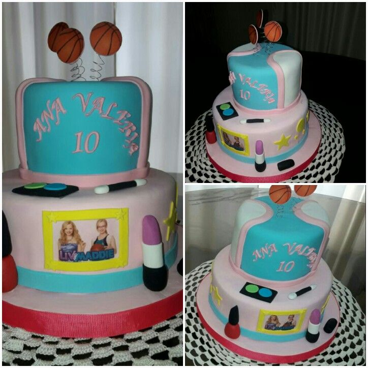 Torta Liv And Maddie La Creacion