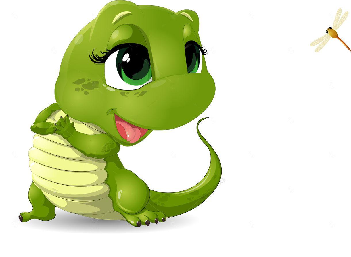 Поздравление днем, ящерица смешной рисунок