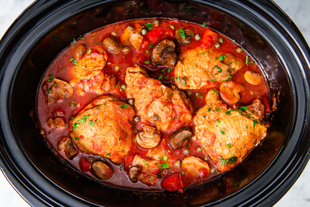 Slow Cooker Chicken Cacciatore Recipe Cacciatore Recipes