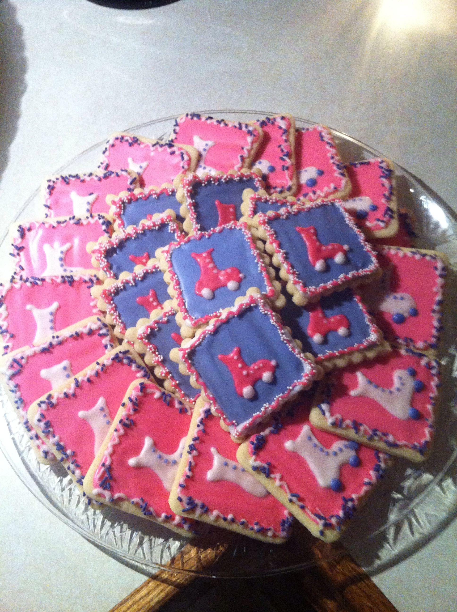 Rollerskate Sugar Cookies