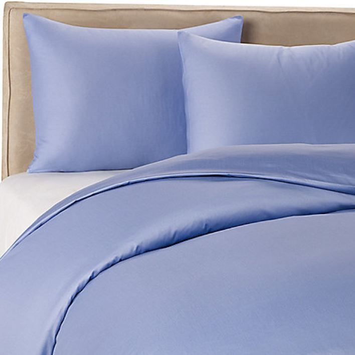 Periwinkle Sheets And Bedspread Similar To One I Own Duvet Cover Sets Solid Duvet Duvet Covers