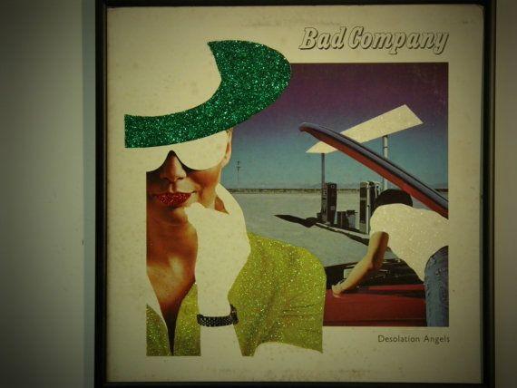 Glittered Record Album Bad Company In 2019 Album Covers Rock
