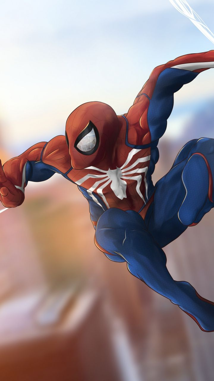 dreaded wallpaper Spider-man artwork swing 7201280 ...