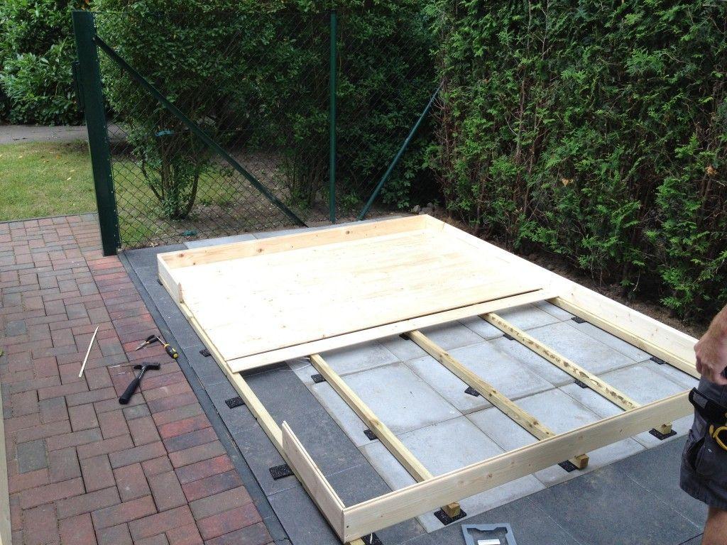 Aufbau Gartenhaus 1 Gartenhaus, Garten, Haus