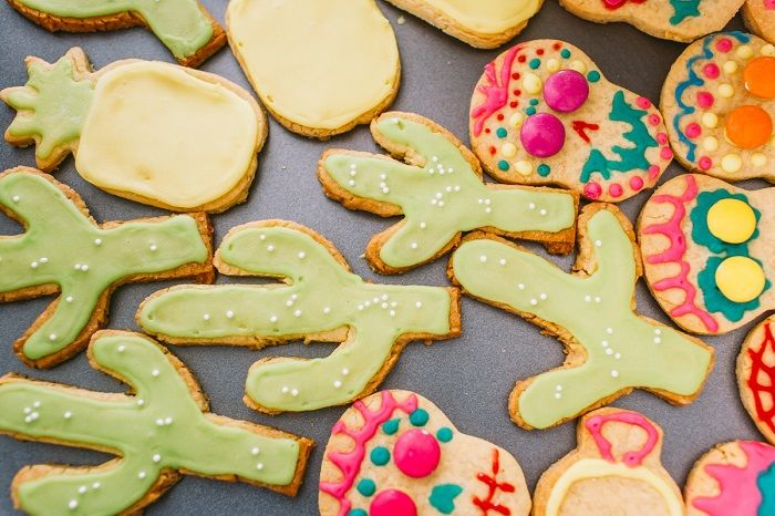 Wedding cookies | Colourful Mexican Inspired Wedding