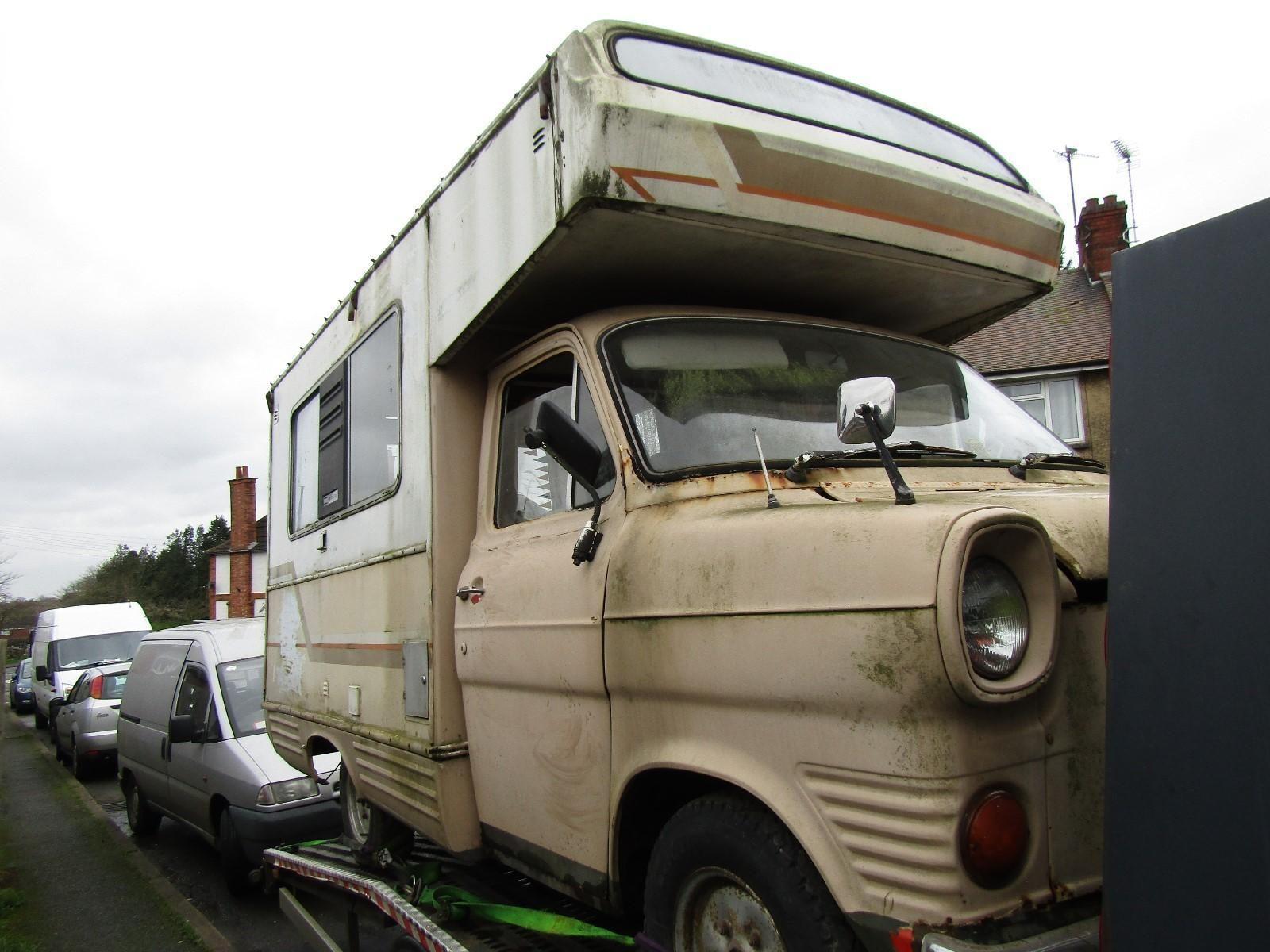Ford Transit Mk1 Motor Caravan Barn Find In Cars Motorcycles Vehicles Campers