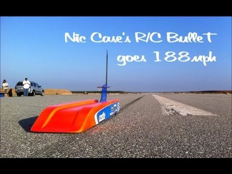 World's Fastest Battery-Powered Radio-Controlled Car Reaches 188 MPH in Speed Run