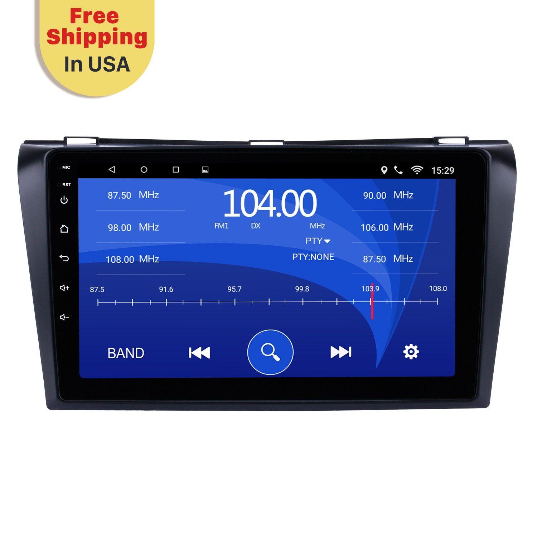 Seicane 9 Inch Android 6 0 2004 2009 Mazda 3 Gps Navigation Car