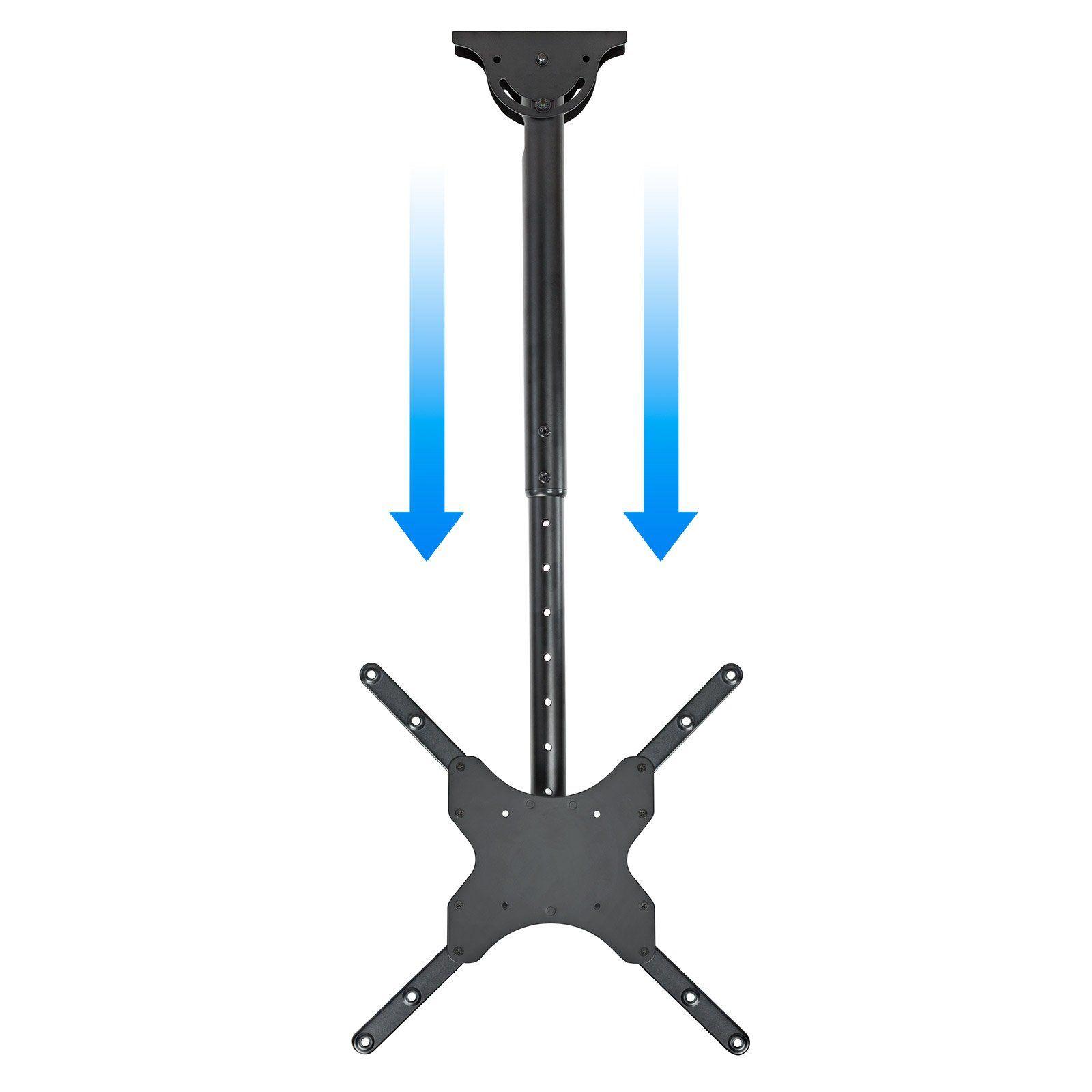 Tilt Swivel Tilting Ceiling TV LED LCD Hanging Pole Mount Bracket ...