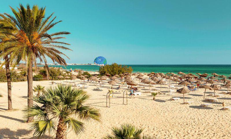 شاطئ الحمامات في تونس Tunis Hammamet Outdoor