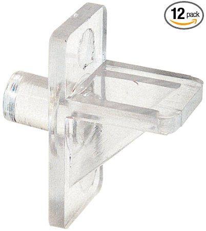 Prime-Line Products U 9147 Shelf Support Peg, 1/4-Inch, Clear Plastic - Amazon.com + acrylic plexiglass sheets to make window shelves
