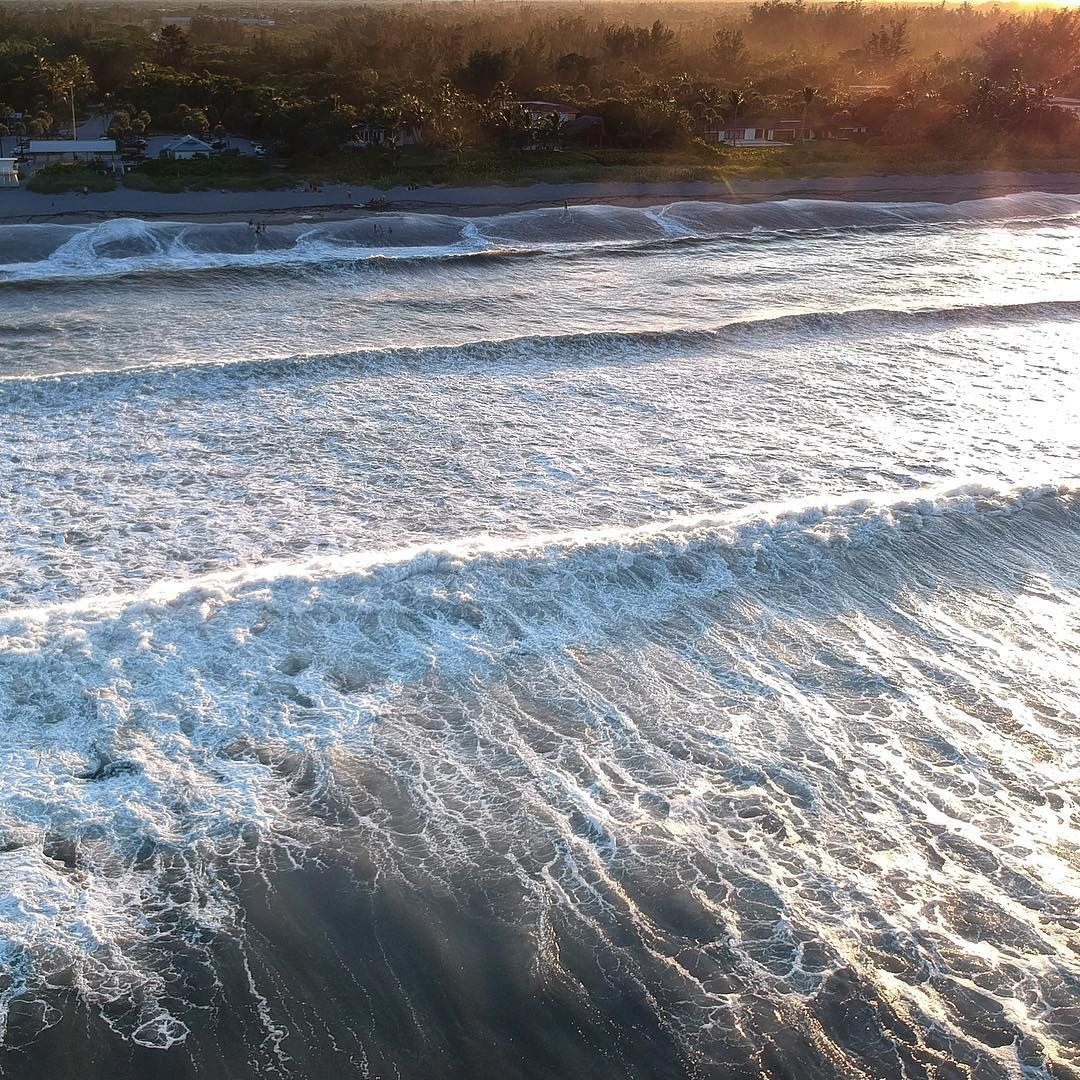 Still some swell today from what is now hurricane Chris. The conditions have not be so great for water shots with the onshore winds and poor water color  but last night had some size and was perfect for some drone shots  #hurricanechris #drone#dji #swell #waves#surfing#peaceful #summer #outside #naturelovers #sunset #daysend #florida #lovefl #perspective #goldenhour #oceansoul#love#grattitude #liveinthemoment #jeffbiegephotography