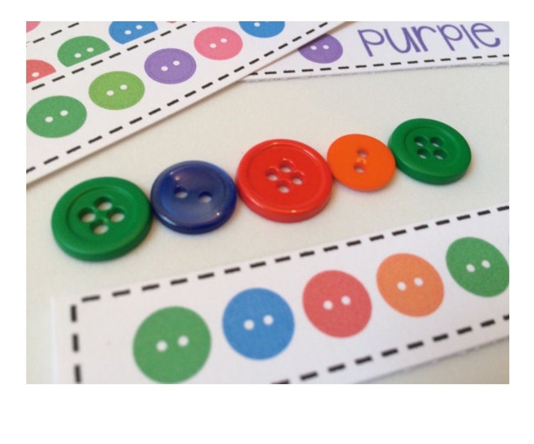 Patterns And Relationships Students Use Colored Buttons