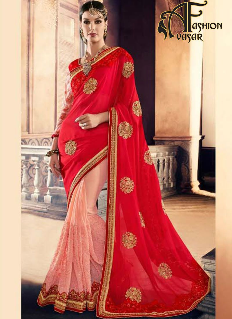 Embroidery Sarees Online Shopping In India Designer Embroidered