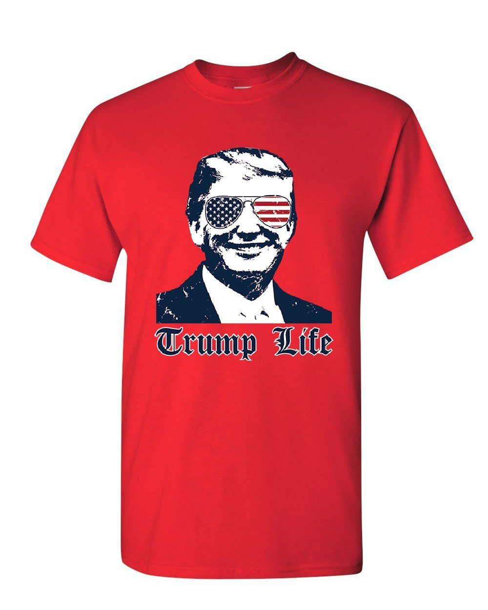 Trump Life Youth T-Shirt 45th MAGA Keep America Great Thug Life Parody Kids Tee