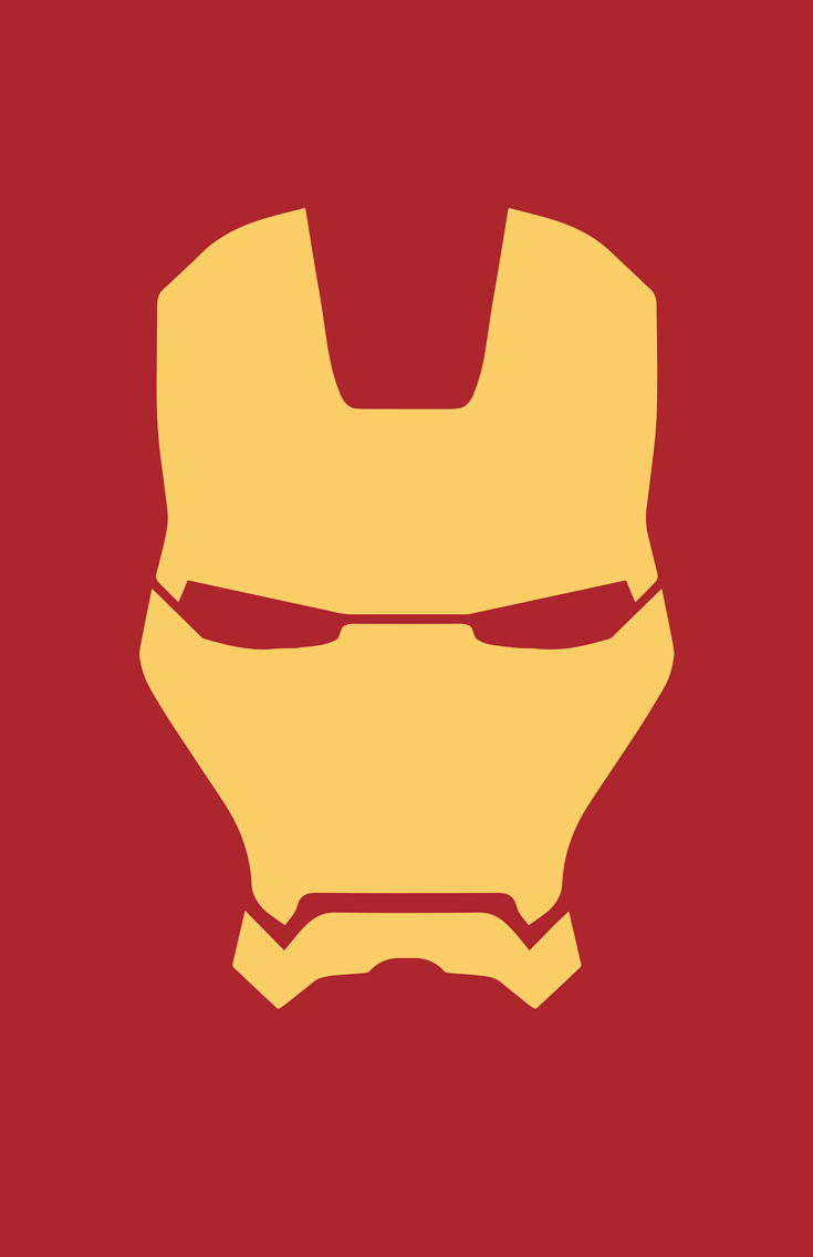 Iron man iphone wallpaper tumblr - Minimalist Iron Man Mask By Burthefly