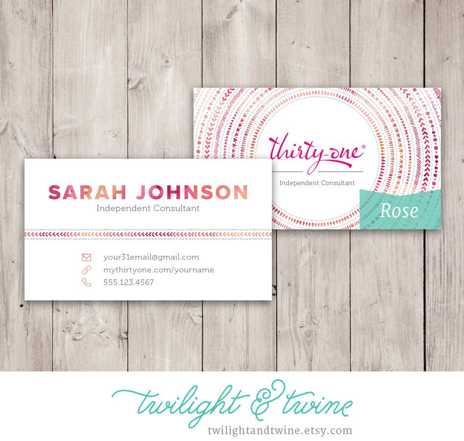 Thirty one watercolor mandala business card custom pdf printable thirty one watercolor mandala business card custom pdf printable template consultant cheaphphosting Gallery