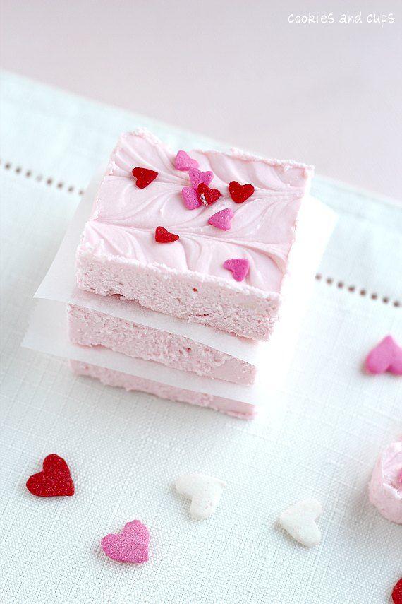 2 Ingredient Strawberry Fudge!