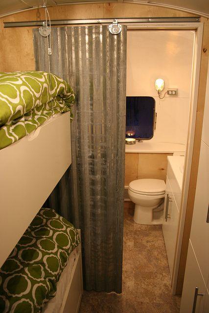 Remodeled Camper Bathroom